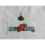 Harley Davidson HOG Keychain or Zipper Pull